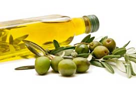 Unsaturated fats like olive oil promote good stomach health
