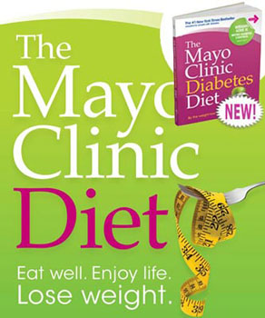 The Mayo Clinic Diet book.