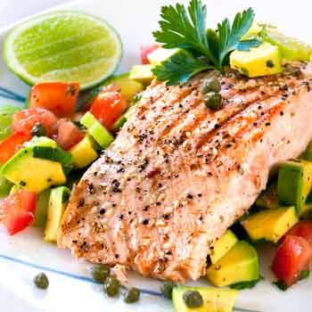 Fish is a metabolism boosting food.