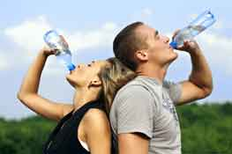 drinking water is good for elimnating toxins
